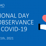 National Day of Observance for COVID-19